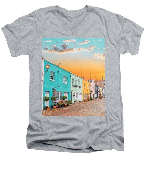 Sunset Street Men's V-Neck T-Shirt
