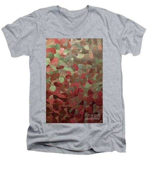 1 Thessalonians 5 16. Rejoice Always Men's V-Neck T-Shirt
