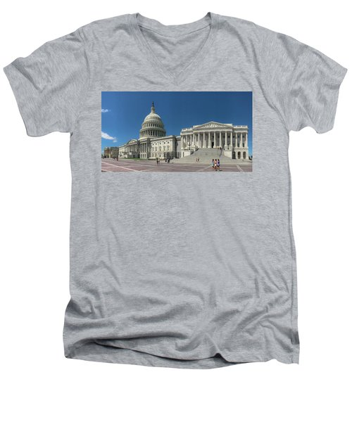 United States Capitol  Men's V-Neck T-Shirt