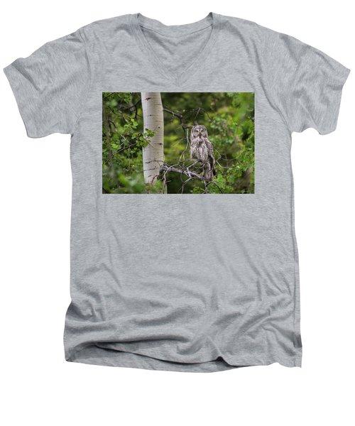 B14 Men's V-Neck T-Shirt