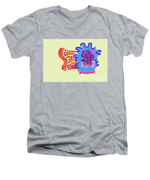 11-14-2018abcdefg Men's V-Neck T-Shirt
