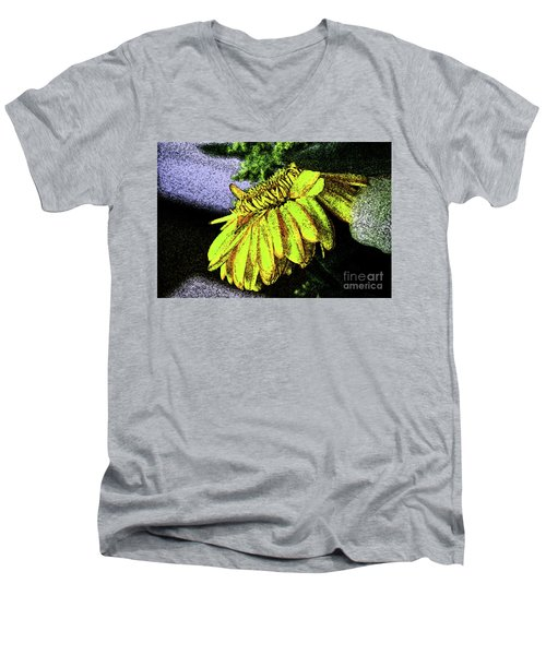 12-4-2008abcdefghijklmnop Men's V-Neck T-Shirt