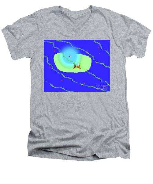 12-8-2008tabcdefgh Men's V-Neck T-Shirt