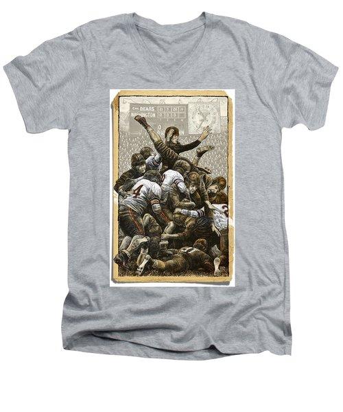 1940 Chicago Bears Men's V-Neck T-Shirt
