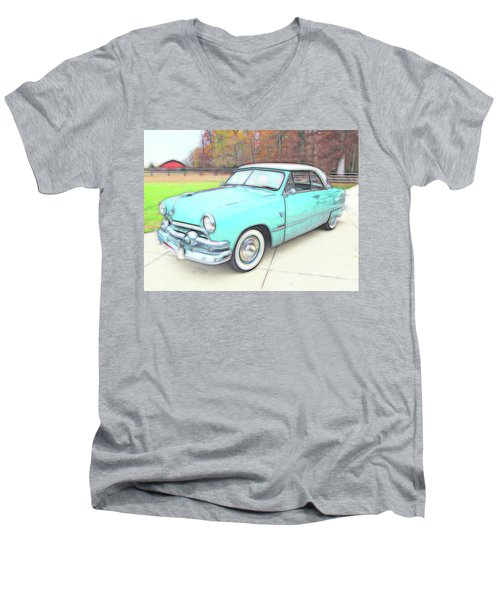1951 Ford Men's V-Neck T-Shirt