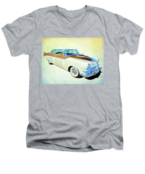 1956 Dodge Royal Men's V-Neck T-Shirt