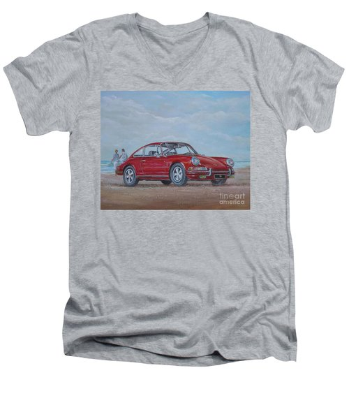 1968 Porsche 911 2.0 S Men's V-Neck T-Shirt