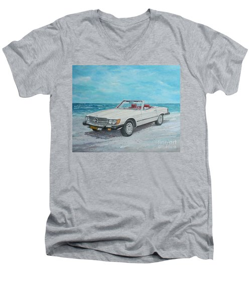 1979 Mercedes 450 Sl Men's V-Neck T-Shirt