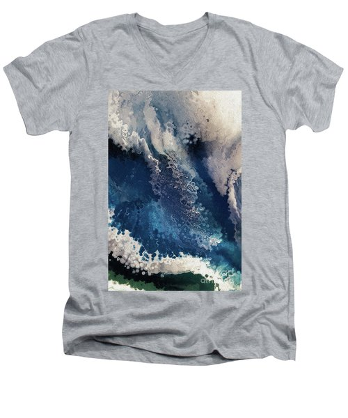 2 Corinthians 4 16. Seeing The Invisible Men's V-Neck T-Shirt
