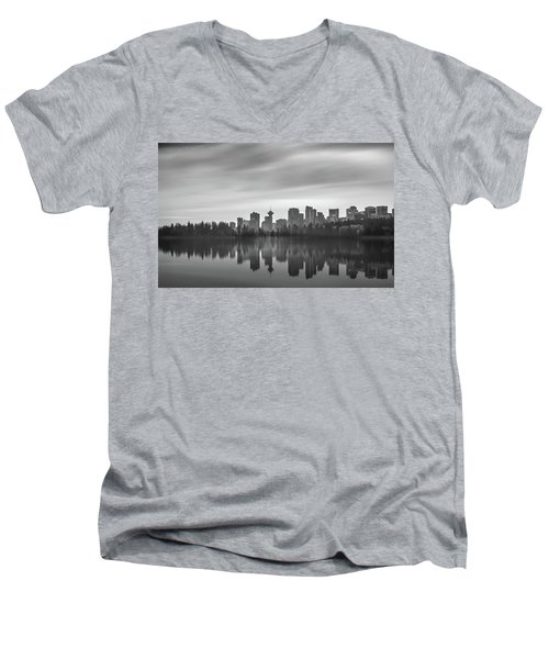 Downtown Vancouver Men's V-Neck T-Shirt