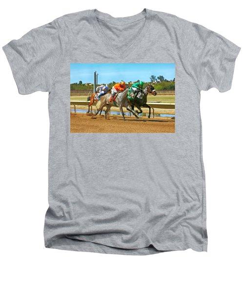 Rillito Park, Tucson Az Men's V-Neck T-Shirt