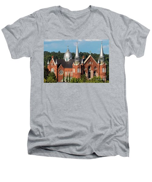 Sacred Heart Cultural Center - Augusta Ga Men's V-Neck T-Shirt