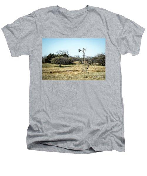 Windmill Men's V-Neck T-Shirt