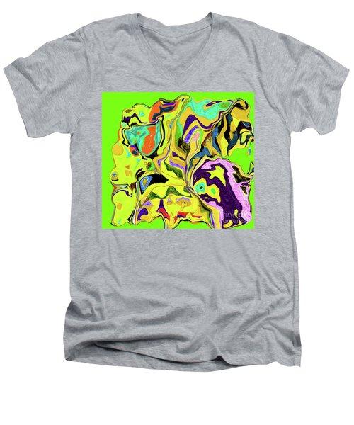 3-19-2010wabcdefghiklmno Men's V-Neck T-Shirt