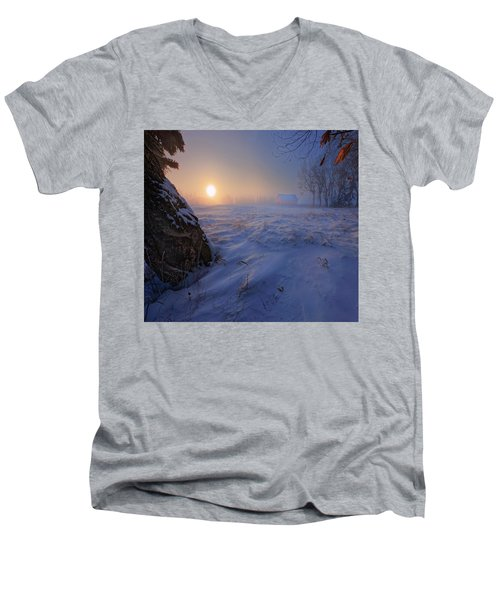 -30 Celsius Men's V-Neck T-Shirt