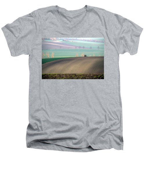 Autumn In South Moravia 5 Men's V-Neck T-Shirt