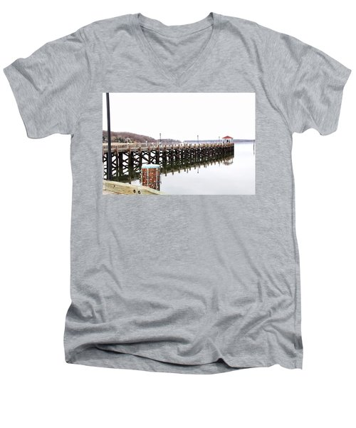 Northport Dock Men's V-Neck T-Shirt