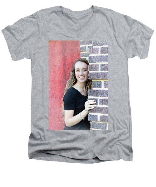 5BE Men's V-Neck T-Shirt