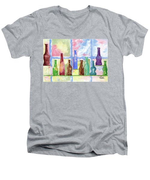 99 Bottles Men's V-Neck T-Shirt