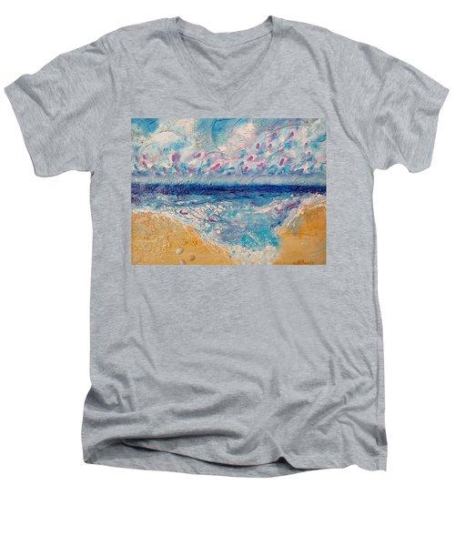 A Drop In The Ocean Men's V-Neck T-Shirt