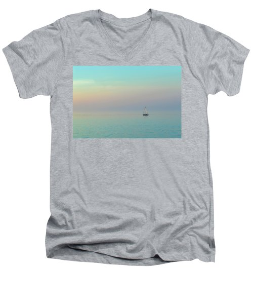 A Mid-summer Evening Men's V-Neck T-Shirt