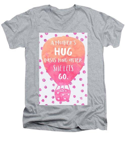 A Mother's Hug Men's V-Neck T-Shirt
