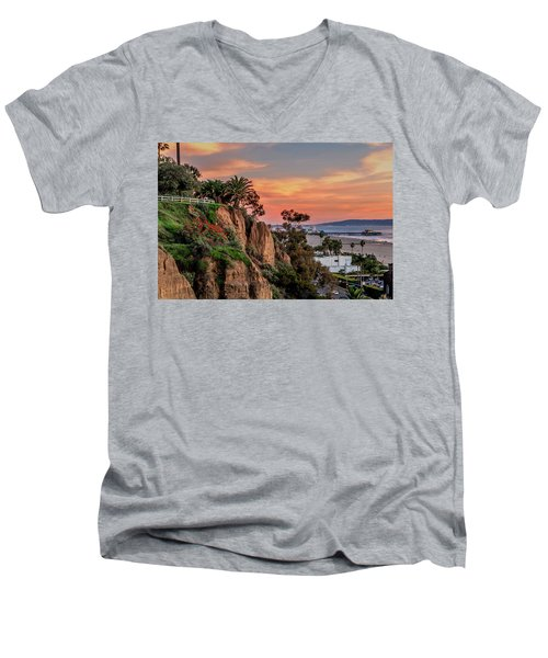 A Nice Evening In The Park Men's V-Neck T-Shirt