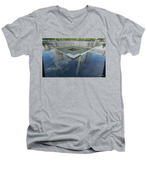 A Place For Reflection Men's V-Neck T-Shirt