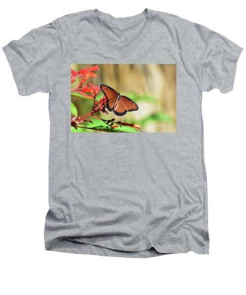 A Queen But Not A Monarch Men's V-Neck T-Shirt
