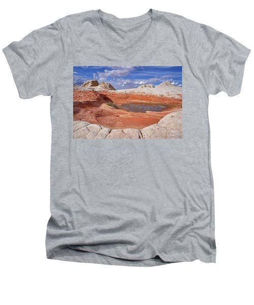 A Strange World Men's V-Neck T-Shirt