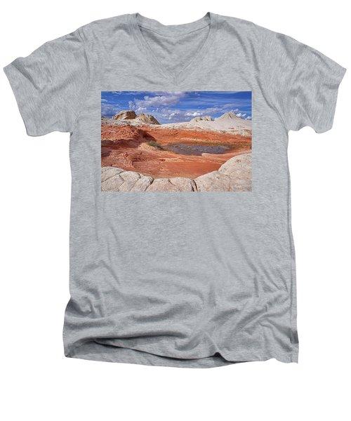 A Strange World Men's V-Neck T-Shirt