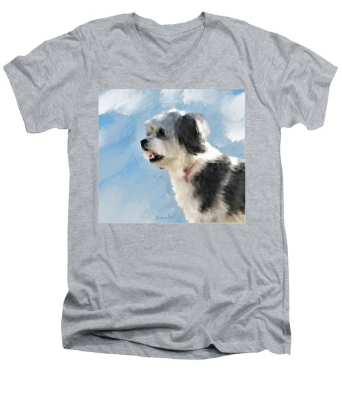 Abby 1 Men's V-Neck T-Shirt