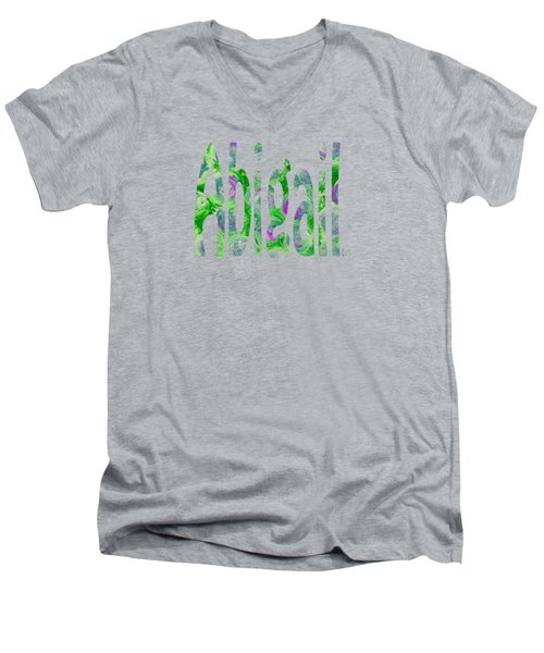 Abigail Men's V-Neck T-Shirt