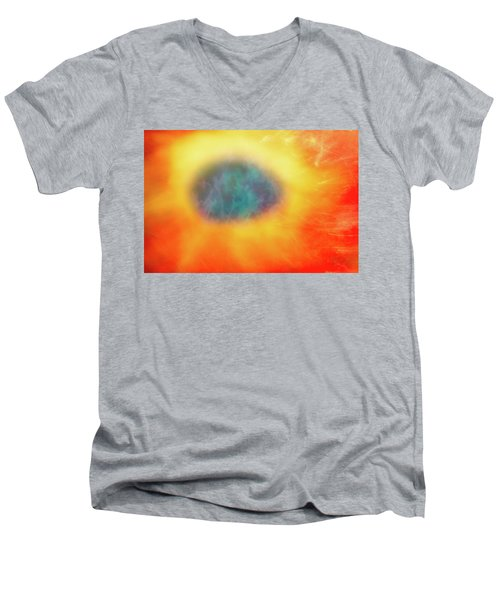 Abstract 50 Men's V-Neck T-Shirt