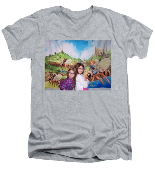 Addy, Rylie, And Tammy Men's V-Neck T-Shirt