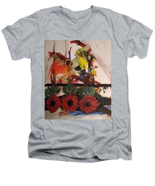 Adonis Men's V-Neck T-Shirt