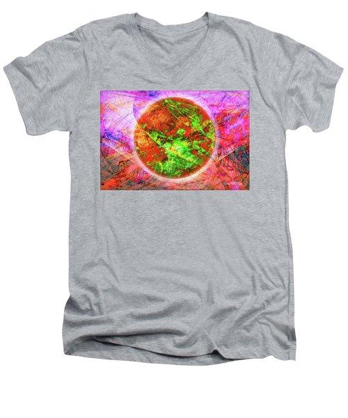 Agony And Ecstasy Men's V-Neck T-Shirt
