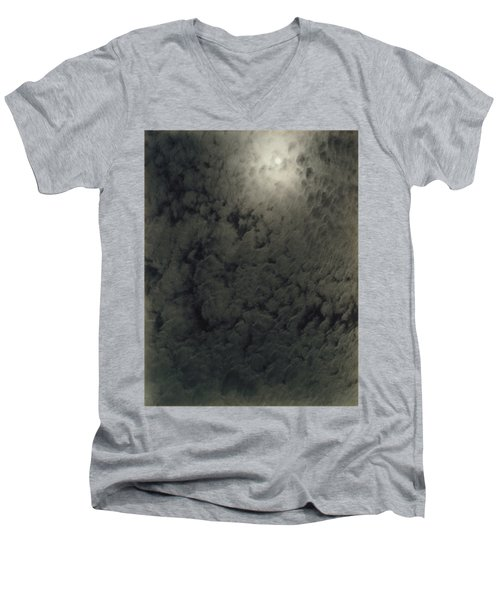Alfred Stieglitz  So Subtle That It Becomes More Real Than Reality Men's V-Neck T-Shirt