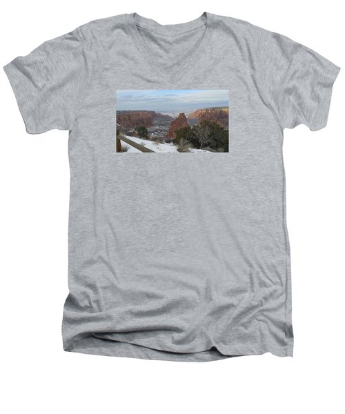 All About The Depth Men's V-Neck T-Shirt