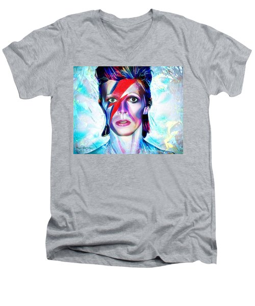 Aladdin Sane Men's V-Neck T-Shirt