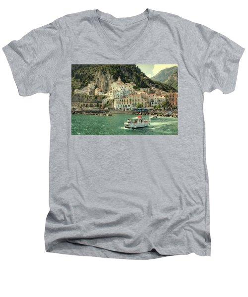 Amalfy Men's V-Neck T-Shirt