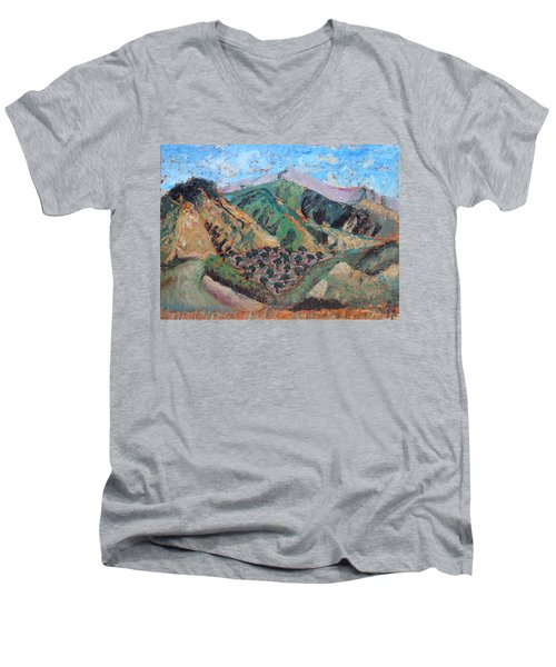 Amanda's Canigou Men's V-Neck T-Shirt