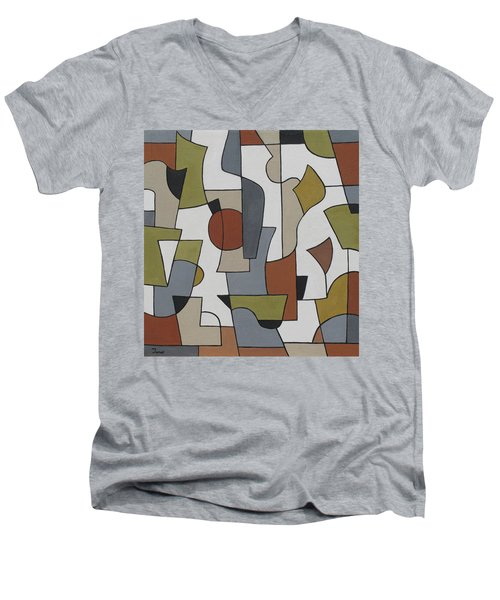 Ambagious Men's V-Neck T-Shirt
