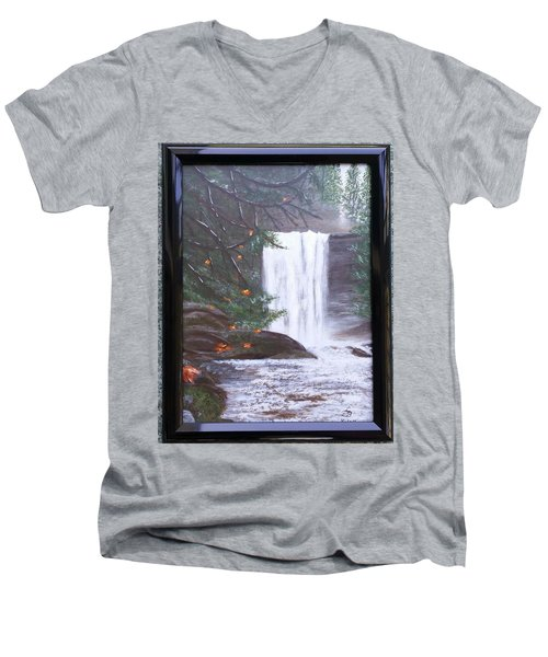 Ammonite Falls Men's V-Neck T-Shirt