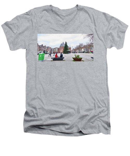 Amsterdam Christmas Men's V-Neck T-Shirt