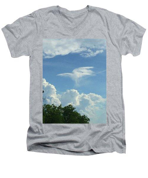 Angel Cloud Appears  Men's V-Neck T-Shirt