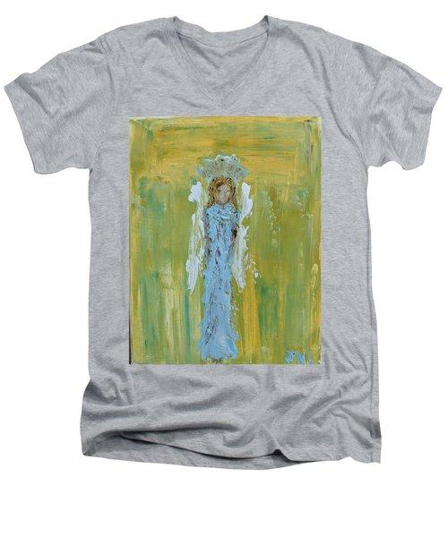 Angel Of Vision Men's V-Neck T-Shirt