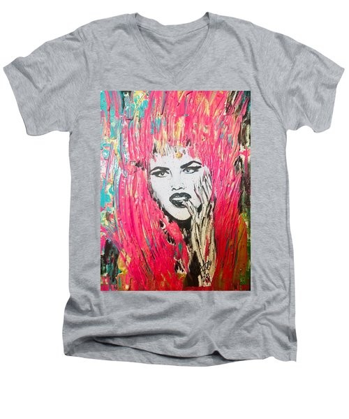 Anna Nicole Men's V-Neck T-Shirt