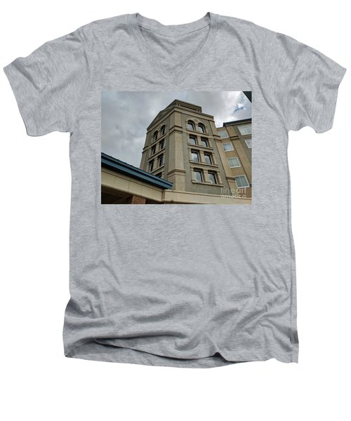 Architecture In The Clouds Men's V-Neck T-Shirt