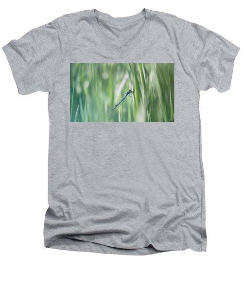 Around The Meadow 8 Men's V-Neck T-Shirt